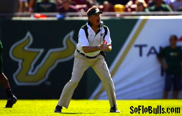 Interview: Jim Leavitt on 98.7 The Fan Pre-FSU Game 2012 | by Matthew Manuri | SoFloBulls.com |