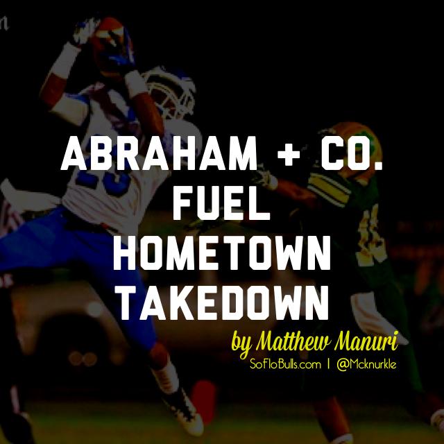 Abraham + Co. Fuel Hometown Takeover   by Matthew Manuri   SoFloBulls.com  