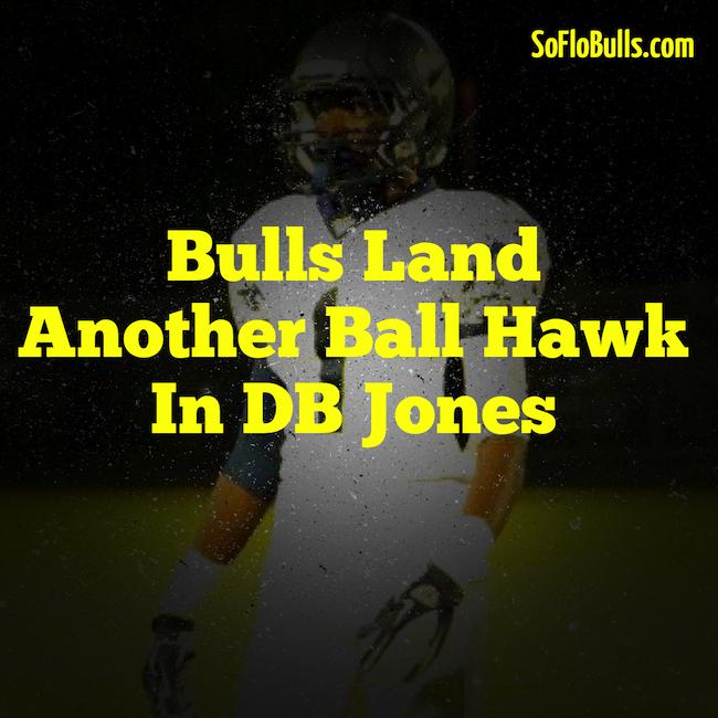 Bulls Land Another Ball Hawk in DB Jones | by Matthew Manuri | SoFloBulls.com |
