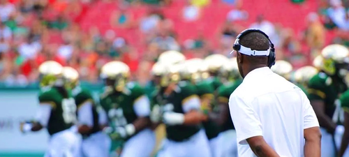 USF Head Coach Willie Taggart on 620WDAE (09.23.2014) FI