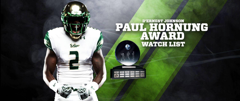 USF RB D'Ernest Johnson Named to 2016 Paul Hornung Award Watchlist HD (1495x631)