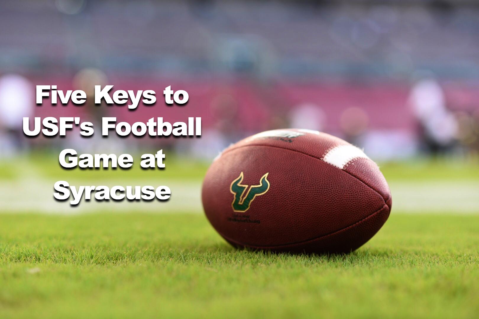 #BeatCuse - USF vs. Syracuse Five Keys to USF's Game at Syracuse by Matt Staton | SoFloBulls.com (1620x1080)
