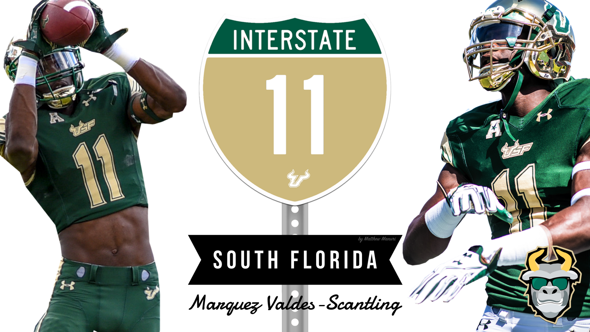🎥 SoFloBulls.com 2016 USF Football Highlights Series Teaser: #Interstate11 WR Marquez Valdes-Scantling | SoFloBulls.com